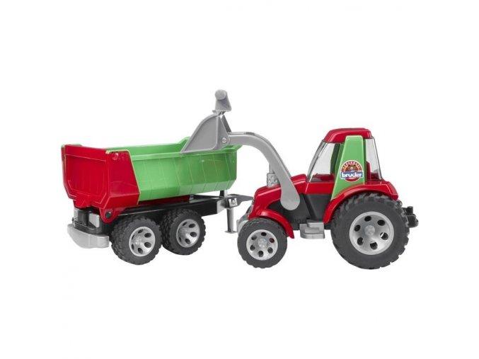 Bruder 20116 Roadmax traktor se lžící s valník