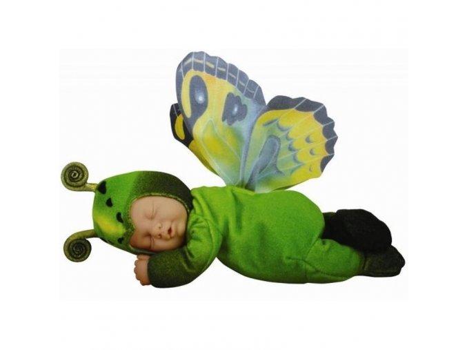 Anne Geddes panenka Motýl zelený