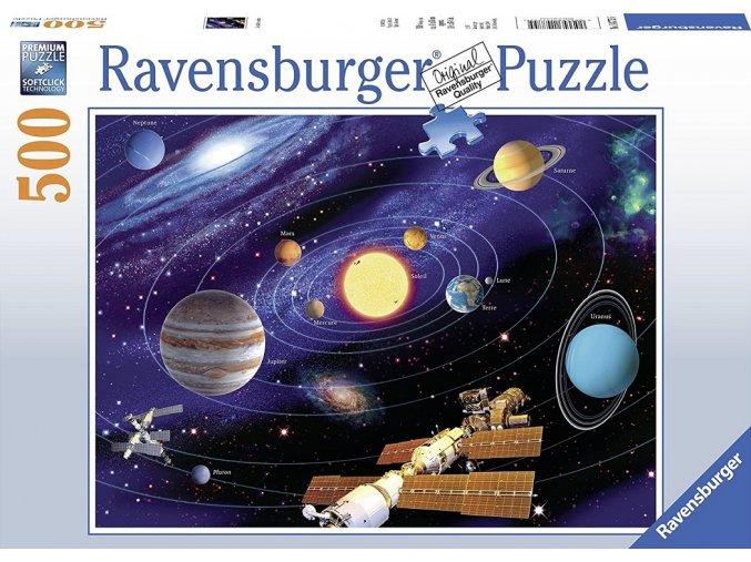 Ravensburger Puzzle Planetární soustava 500 dílků