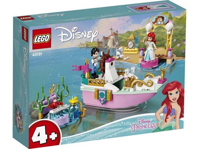 LEGO Disney Princezny 43191 Arielina slavnostní loď