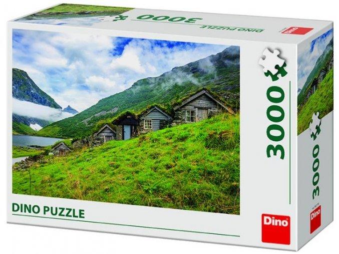 Dino Norangsdalen Valley, Norsko 3000 dílků
