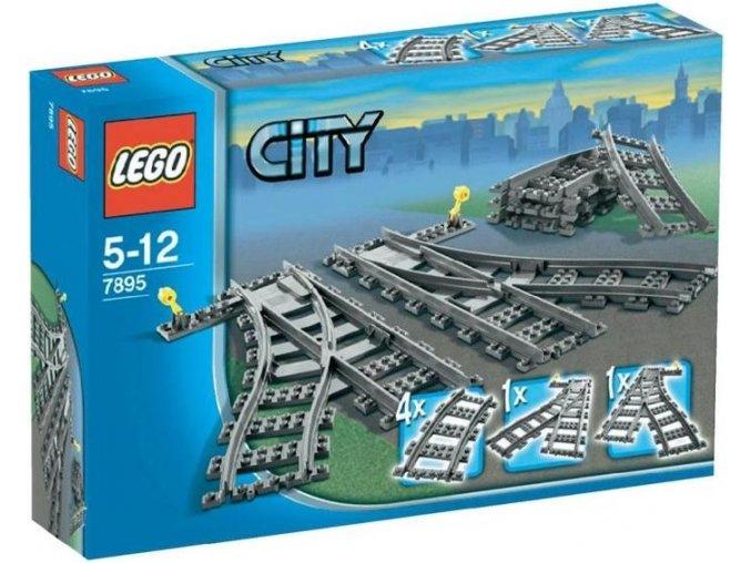 LEGO City 7895 Vyhybky 1