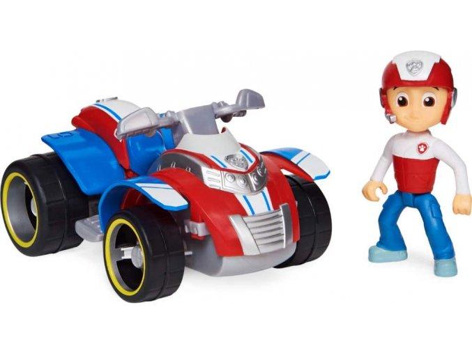 Spin Master Paw Patrol Základní vozidla s figurkou Ryder