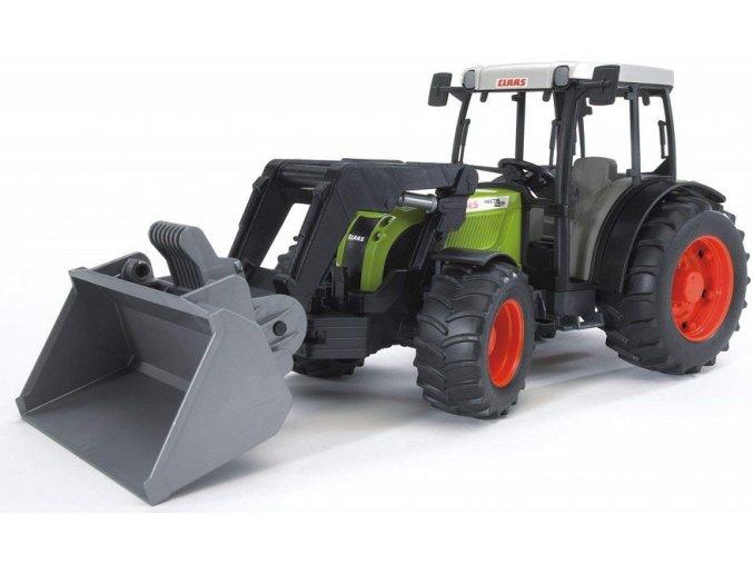 BRUDER 2111 Traktor Claas Nectis 267F s čelním nakladačem