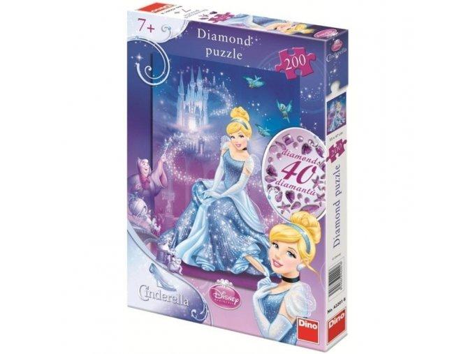 puzzle WD Popelka Diamond 200d 1