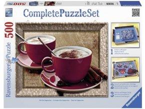 puzzle Kapucino 500d Kompletni set Ravensburger 1