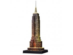 3D puzzle Empire State Building svitici LED Ravensburger 1 0