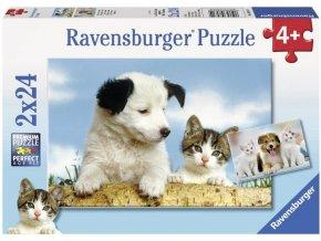 puzzle Parta pratel 2x24d Ravensburger 1