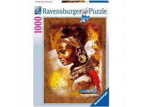 puzzle Africká kráska 1000d, Ravensburger