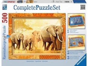 Kompletní set sloni 500d