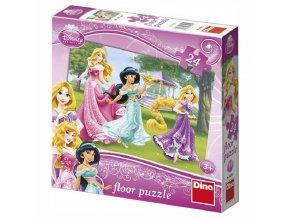 puzzle Walt Disney Princezny 24d, Dino