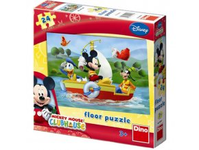 puzzle Walt Disney Mickey Mouse 24d, Dino