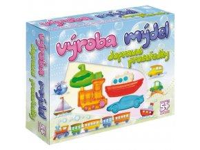 DetiArt Výroba mýdel Transport