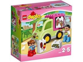 LEGO DUPLO 10586 Zmrzlinarska dodavka 1