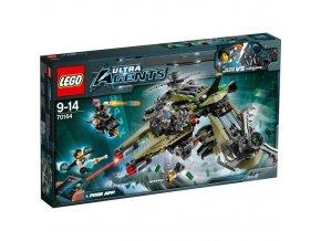 LEGO Agents 70164 Uder hurikanu 1