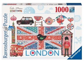 puzzle Tula Moon London 1000d, Ravensburger