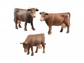 BRUDER 2308 Kráva hnědá