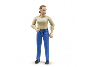 Bworld BRUDER 60408 zena modre kalhoty0