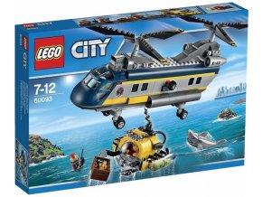 LEGO City 60093 Vrtulnik pro hlubinny morsky vyzkum 1