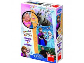 puzzle Walt Disney Frozen dětský metr 150d, Dino
