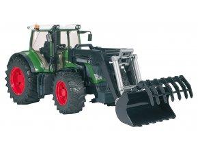 BRUDER 3041 Traktor Fendt 936 Vario + čelní nakladač