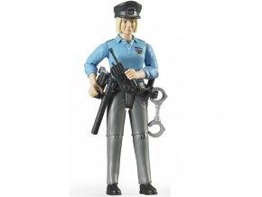 BRUDER 60430 Bworld Figurka - Policistka s příslušenstvím