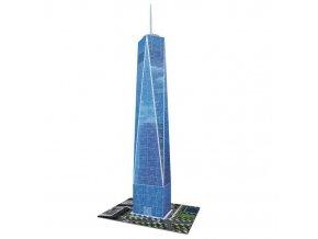 3D puzzle Trade Centre 216 dilku Ravensburger 1