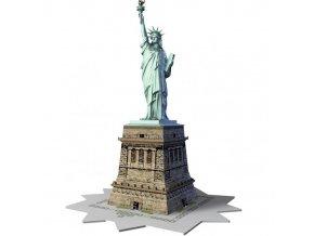 3D puzzle Socha Svobody 108 dílků, Ravensburger