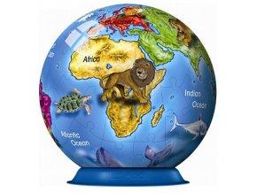 Ravensburger Puzzlebal Globus 72 dilku