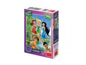 puzzle WD Fairies neon 100XL, Dino
