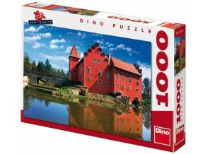 puzzle Zámek Červená Lhota 1000d, Dino