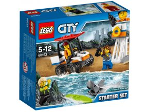 LEGO City 60163 Pobrezni hlidka zacatecnicka sada