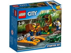 LEGO City 60157 Dzungle zacatecnicka sada