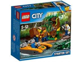 LEGO City 60157 Dzungle zacatecnicka sada