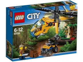 LEGO City 60158 Nakladni helikoptera do dzungle