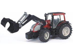 BRUDER 3071 Traktor Valtra T 191 + čelní nakladač