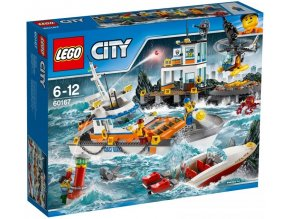 LEGO City 60167 Zakladna pobrezni hlidky