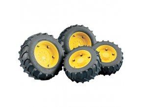BRUDER 2321 Přídavná kola žlutá