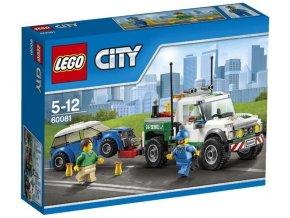 LEGO City 60081 Odtahovy pick up 1