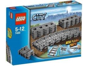 LEGO City 7499 Ohebne koleje 1