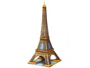 3D puzzle Eiffelova vez 216 dilku Ravensburger 2