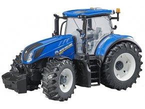 BRUDER 3120 Traktor New Holland T7.315v
