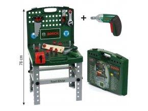 Bosch Pracovni stul v kufru aku sroubovak Klein 2