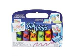 Play-Doh DohVinci Balení 6 náhradních tub