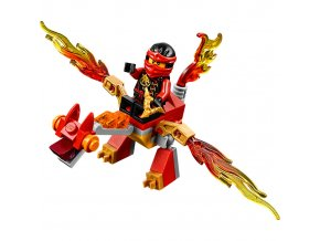 LEGO Ninjago 30422 Kai s mini drakem