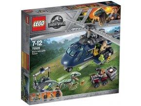 LEGO Jurassic World 75928 Pronásledování Bluea helikoptérou