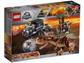 LEGO Jurassic World 75929 Útěk před Carnotaurem z Gyrosféry