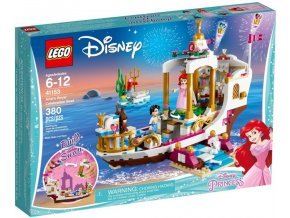 LEGO Disney Princezny 41153 Arielin královský člun na oslavy