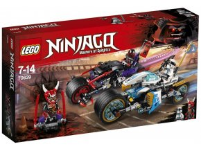 LEGO Ninjago 70639 Pouliční závod Hadího jaguáru