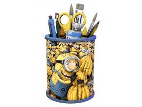 3D puzzle Stojan na tužky Mimoňové: Já Padouch 3, 54 dílků Ravensburger